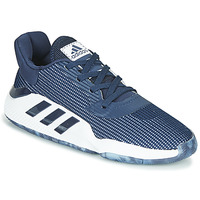 Schoenen Heren Basketbal adidas Performance PRO BOUNCE 2019 LOW Marine / Wit