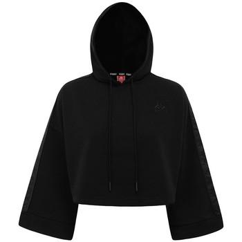 Textiel Dames Sweaters / Sweatshirts Kappa Sweatshirt femme  Authentic Allas noir