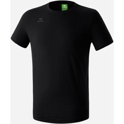 Textiel Jongens T-shirts korte mouwen Erima T-shirt  Teamsport noir