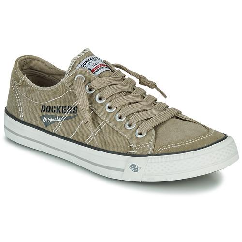 Schoenen Heren Lage sneakers Dockers by Gerli 30ST027-450 Kaki