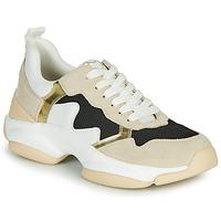 Schoenen Dames Lage sneakers Mam'Zelle HELIUM Wit / Beige / Zwart