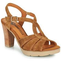 Schoenen Dames Sandalen / Open schoenen Mam'Zelle TIMBA Cognac