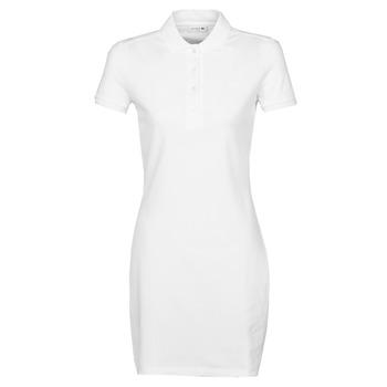 Textiel Dames Korte jurken Lacoste EUGENIE Wit