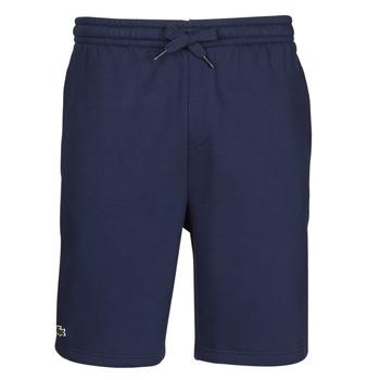 Textiel Heren Korte broeken / Bermuda's Lacoste AYCHA Marine