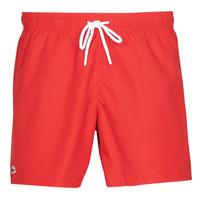 Textiel Heren Zwembroeken/ Zwemshorts Lacoste JEANNAH Rood