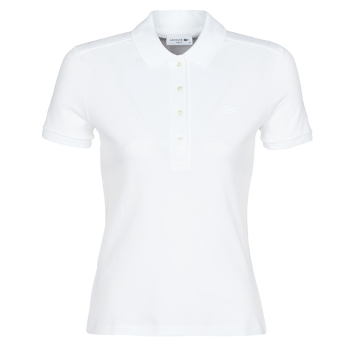 Textiel Dames Polo's korte mouwen Lacoste ADRIANNO Wit