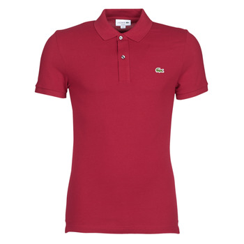 Textiel Heren Polo's korte mouwen Lacoste PH4012 SLIM Bordeau
