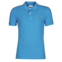 Textiel Heren Polo's korte mouwen Lacoste PH4012 SLIM Blauw / Turquoize