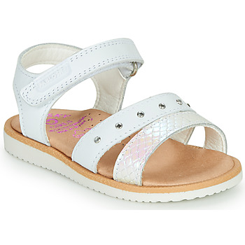 Schoenen Meisjes Sandalen / Open schoenen Pablosky  Wit