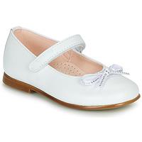 Schoenen Meisjes Ballerina's Pablosky  Wit