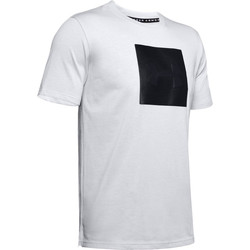 Textiel Heren T-shirts korte mouwen Under Armour Unstoppable Knit Tee 1345643-014 Gris