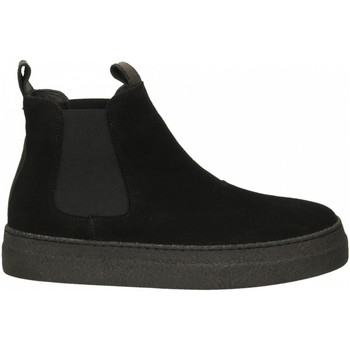 Schoenen Dames Enkellaarzen Oa Non-Fashion Shoes TRIANGLE SUEDE nero-nero