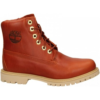 Schoenen Dames Laarzen Timberland Paninara Collarless 6 WP burnt-orange