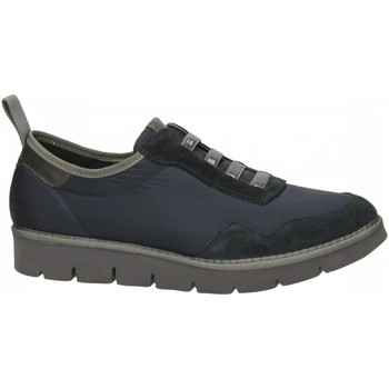 Schoenen Heren Lage sneakers Panchic P05 LOW CUT NYLON SUEDE deep-blu