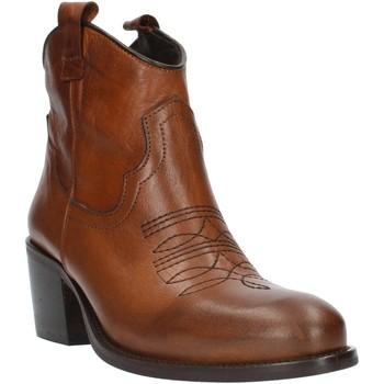 Schoenen Dames Enkellaarzen Exton MZ40 Leather