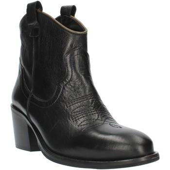 Schoenen Dames Enkellaarzen Exton MZ40 Black
