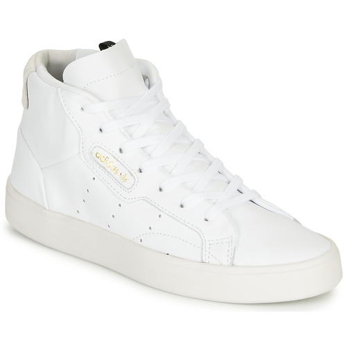Schoenen Dames Hoge sneakers adidas Originals adidas SLEEK MID W Wit