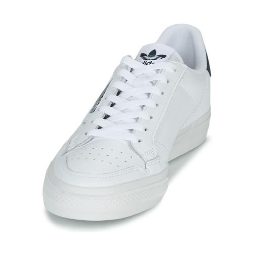 Adidas Originals Continental Vulc Wit - Gratis Levering Schoenen Lage Sneakers 8899