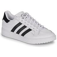 Schoenen Lage sneakers adidas Originals MODERN 80 EUR COURT Wit