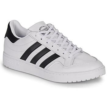 Schoenen Lage sneakers adidas Originals MODERN 80 EUR COURT Wit / Zwart