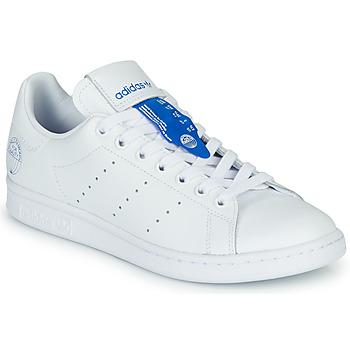 Schoenen Lage sneakers adidas Originals STAN SMITH Wit