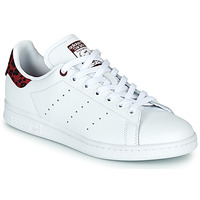 Schoenen Dames Lage sneakers adidas Originals STAN SMITH W Wit / Bordeau