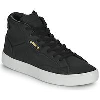 Schoenen Dames Hoge sneakers adidas Originals adidas SLEEK MID W Zwart