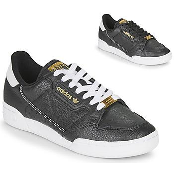 Schoenen Dames Lage sneakers adidas Originals CONTINENTAL 80 Zwart