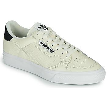 Schoenen Lage sneakers adidas Originals CONTINENTAL VULC Beige