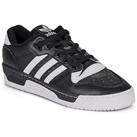 Schoenen Heren Lage sneakers adidas Originals RIVALRY LOW Zwart / Wit