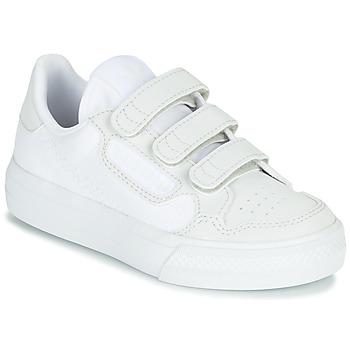 Schoenen Kinderen Lage sneakers adidas Originals CONTINENTAL VULC CF C Wit / Beige