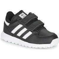 Schoenen Kinderen Lage sneakers adidas Originals FOREST GROVE CF I Zwart