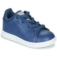 Schoenen Jongens Lage sneakers adidas Originals STAN SMITH EL I Marine