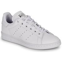 Schoenen Kinderen Lage sneakers adidas Originals STAN SMITH J Wit