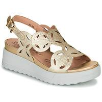 Schoenen Dames Sandalen / Open schoenen Stonefly PARKY 9 Goud