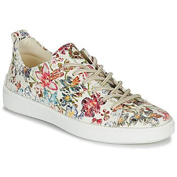Schoenen Dames Lage sneakers Think TURNA Beige / Rood / Groen