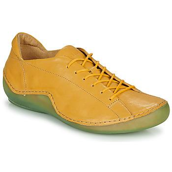 Schoenen Dames Lage sneakers Think KAPSL Geel / Groen
