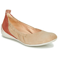 Schoenen Dames Ballerina's Think CUGAL Beige / Rood