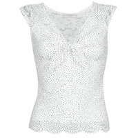 Textiel Dames Tops / Blousjes Guess GIUNONE TOP Wit
