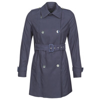 Textiel Dames Trenchcoats Guess CECILIA TRENCH Blauw