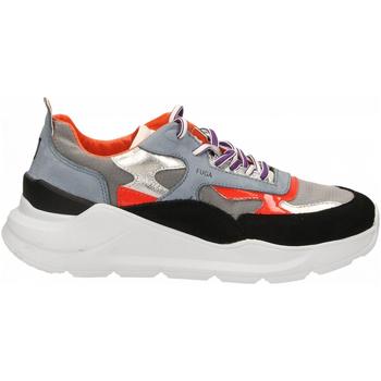 Schoenen Dames Lage sneakers Date FUGA MEGATRON black