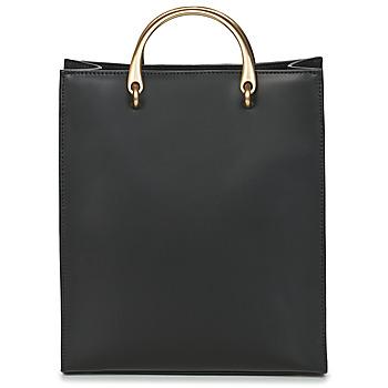 Tassen Dames Handtassen kort hengsel Hexagona  Zwart