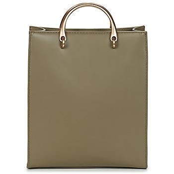 Tassen Dames Handtassen kort hengsel Hexagona  Groen