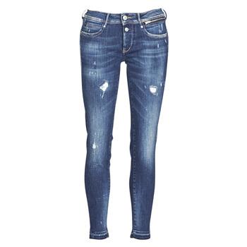 Textiel Dames Skinny jeans Le Temps des Cerises PULP SLIM 7/8 Blauw