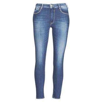 Textiel Dames Skinny jeans Le Temps des Cerises PULP SLIM TAILLE HAUTE 7/8 Blauw