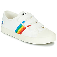 Schoenen Dames Lage sneakers Gola COASTER RAINBOW VELCRO Wit