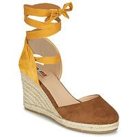 Schoenen Dames Sandalen / Open schoenen MTNG GELLO Bruin / Mosterd