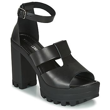 Schoenen Dames Sandalen / Open schoenen Sweet Lemon LORIS Zwart