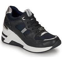 Schoenen Dames Lage sneakers Tom Tailor 8091512 Marine / Zwart