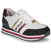 Schoenen Dames Lage sneakers Tom Tailor 8095504 Wit / Blauw / Rood